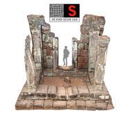Ancient Ruins 16K 3d model