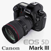 Canon EOS 5D Mark III EF 24-105mm 3d model