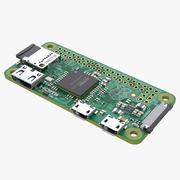 Raspberry Pi Zero 3d model