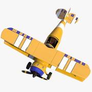 Light Aircraft 3 3d model