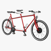 Tandem Bicycle 3d model