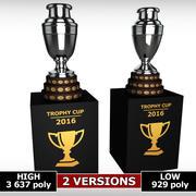 Niski szczegół trofeum Pucharu Ameryki 3d model