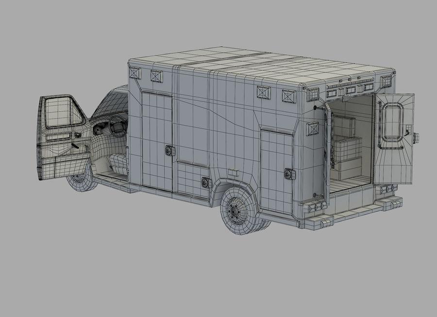 Ambulance royalty-free 3d model - Preview no. 24