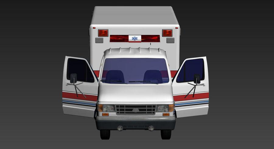 Ambulance royalty-free 3d model - Preview no. 15