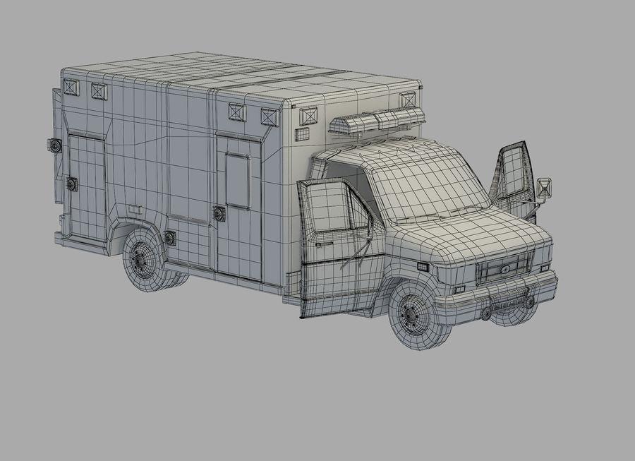 Ambulance royalty-free 3d model - Preview no. 20