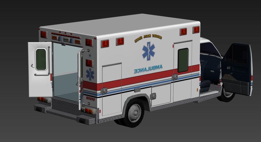 Ambulance royalty-free 3d model - Preview no. 13