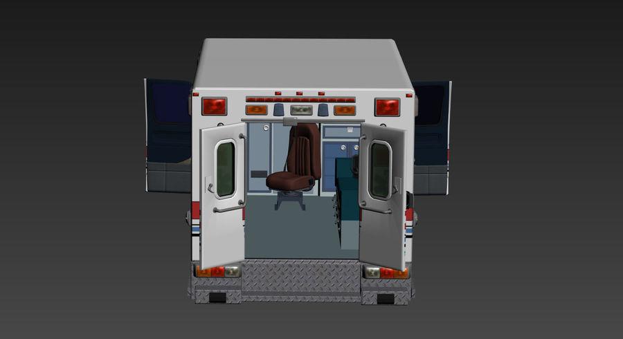 Ambulance royalty-free 3d model - Preview no. 11