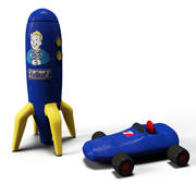 辐射玩具 3d model