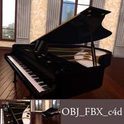 그랜드 피아노 3d model