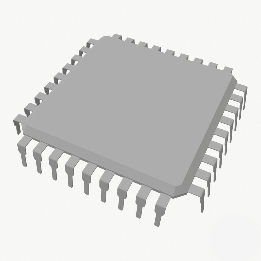 Chip royalty-free 3d model - Preview no. 7