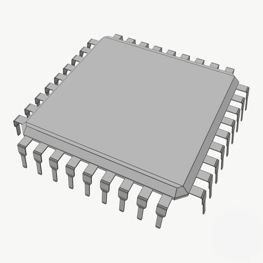 Chip royalty-free 3d model - Preview no. 12