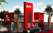 KFCストア 3d model