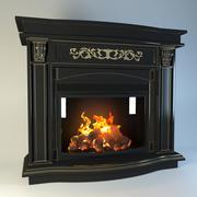 壁炉ALEX BAUMAN Raffaele 3d model