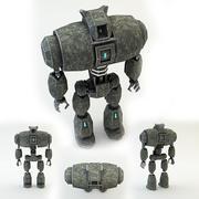 robô de guerra (1) 3d model