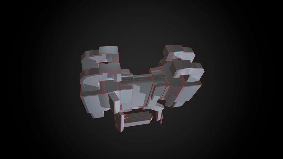 Broń przemysłowa royalty-free 3d model - Preview no. 7