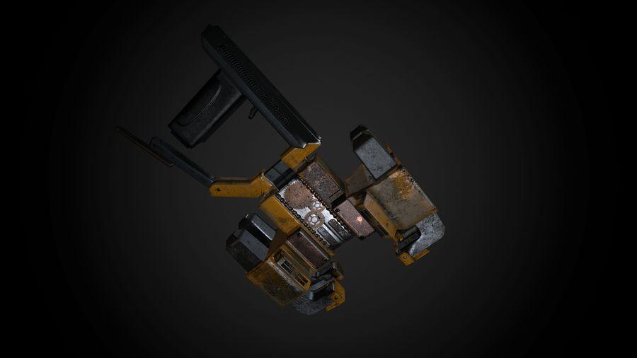 Broń przemysłowa royalty-free 3d model - Preview no. 1