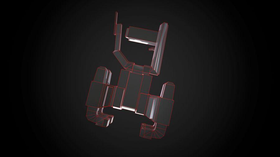 Broń przemysłowa royalty-free 3d model - Preview no. 6