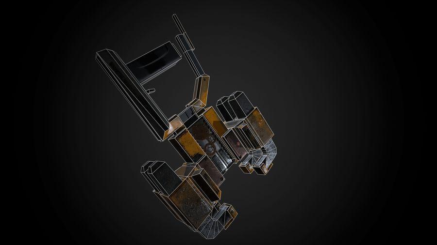 Broń przemysłowa royalty-free 3d model - Preview no. 4