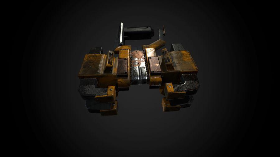 Broń przemysłowa royalty-free 3d model - Preview no. 2
