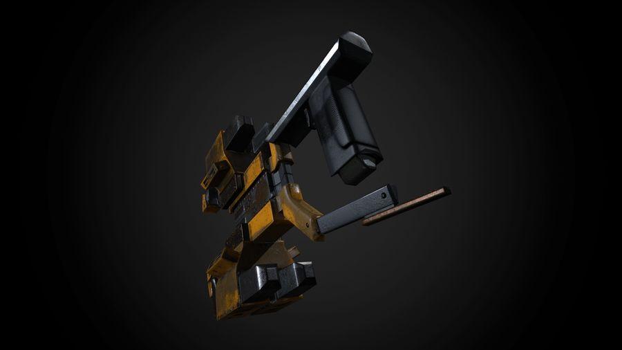 Broń przemysłowa royalty-free 3d model - Preview no. 3