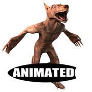 Werewolf Stylized 3d model