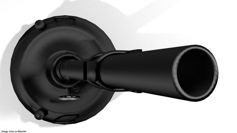 Mortaio - Tipo Ruota royalty-free 3d model - Preview no. 3