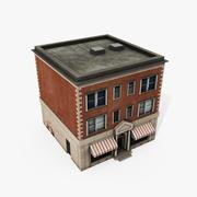 Центр города 3d model