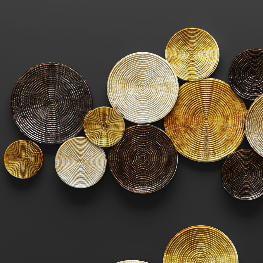 Circles Wall Decor 3d Model 11 Unknown Obj Fbx Max Free3d