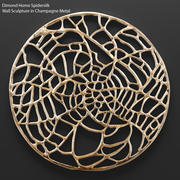 Dimond Ev Spidersilk Duvar Heykel 3d model