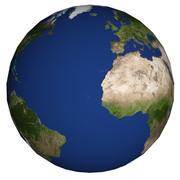 地球 3d model