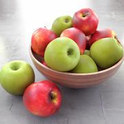 Mixed apples 3d model