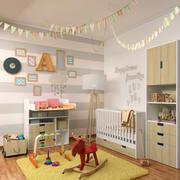 Decorative set for children 3 3d model