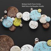 Círculos de tom de terra de Mclean 3d model