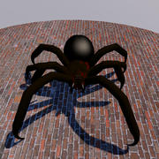 Spooky Spider 3d model