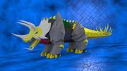 Triceratops de lesmas 3d model