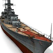 Prinz Eugen Cruiser 3d model