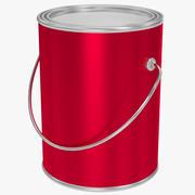 油漆罐 3d model