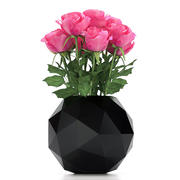 Rose en florero modelo 3d
