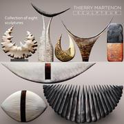 Скульптурная коллекция Тьерри Мартенона 3d model