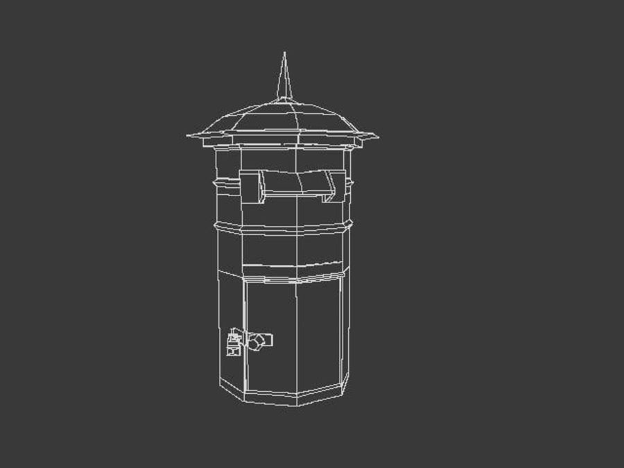 letter_box royalty-free 3d model - Preview no. 6