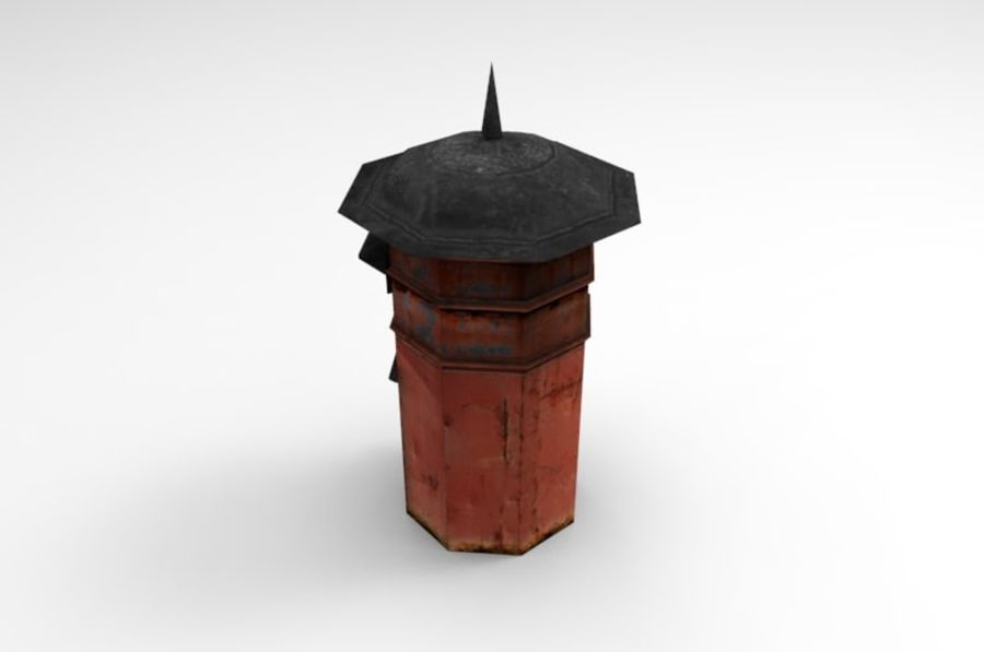 letter_box royalty-free 3d model - Preview no. 5