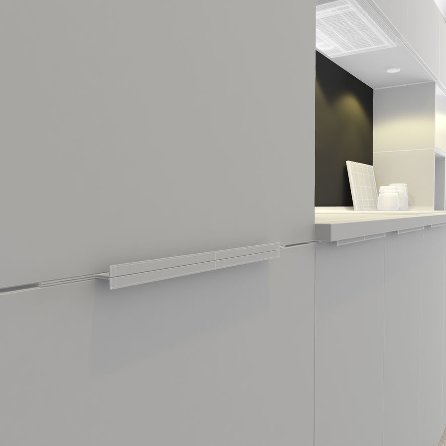 Kitchen Ikea Ringhult Kitchen 3d Model 30 3ds Obj Fbx Max Free3d