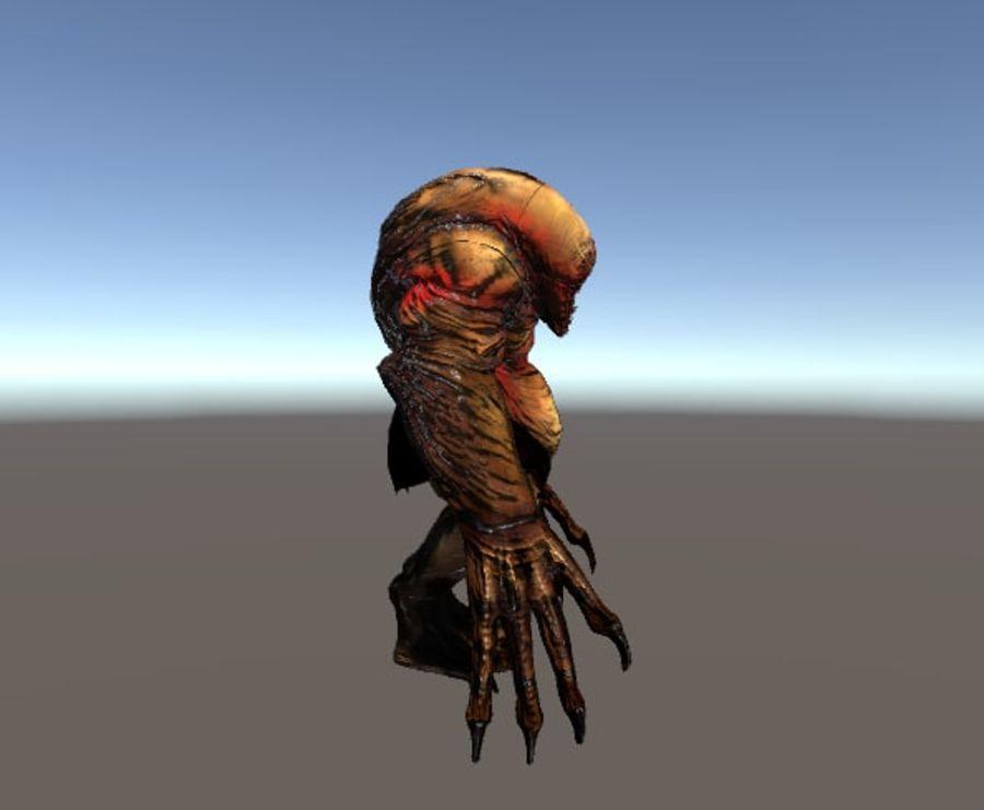 Jaskiniowy potwór royalty-free 3d model - Preview no. 2