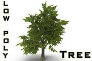 Baum LOW POLY 3d model