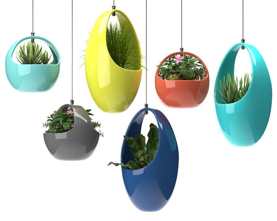 Rośliny Wiszące rośliny royalty-free 3d model - Preview no. 5