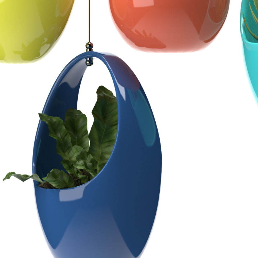 Rośliny Wiszące rośliny royalty-free 3d model - Preview no. 2