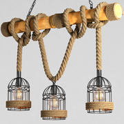 枝形吊灯吊灯 3d model