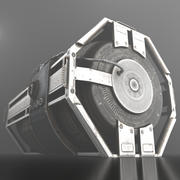 Acil Yedekleme Jeneratörü 3d model