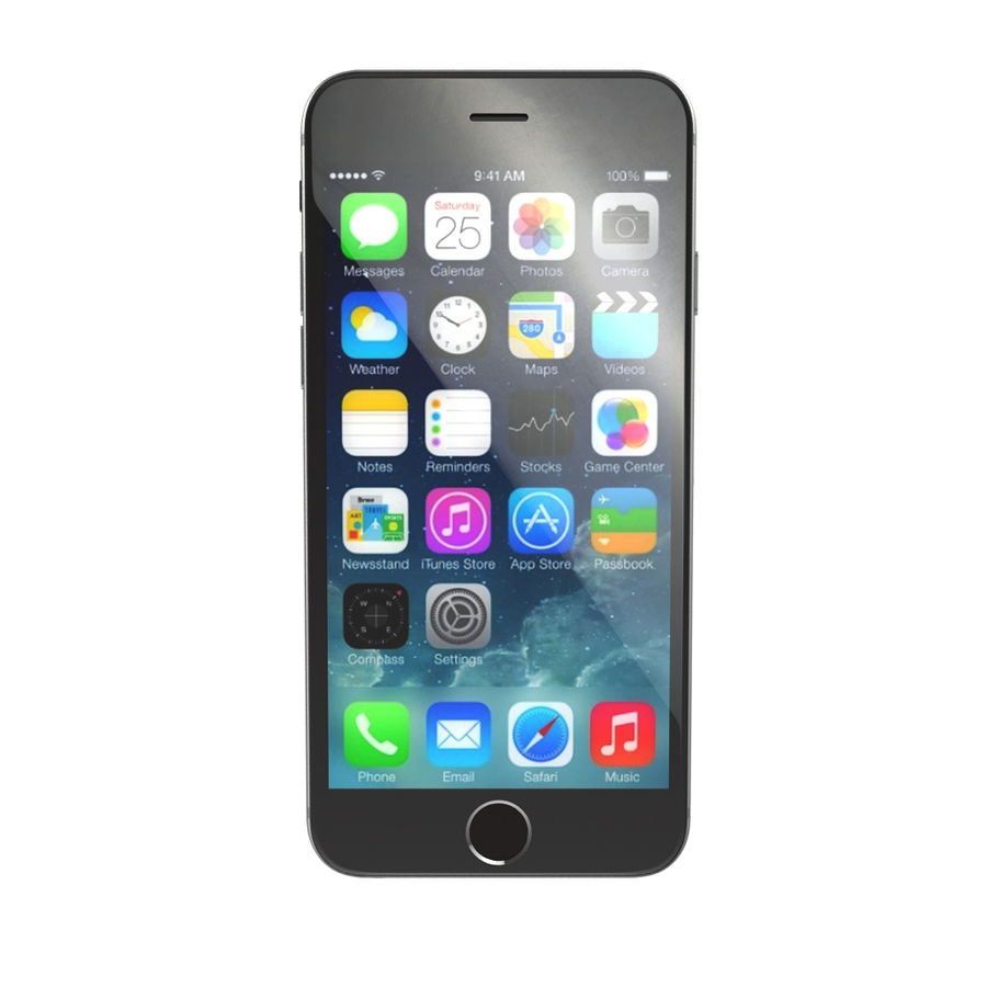 Apple iPhone 6s royalty-free 3d model - Preview no. 5