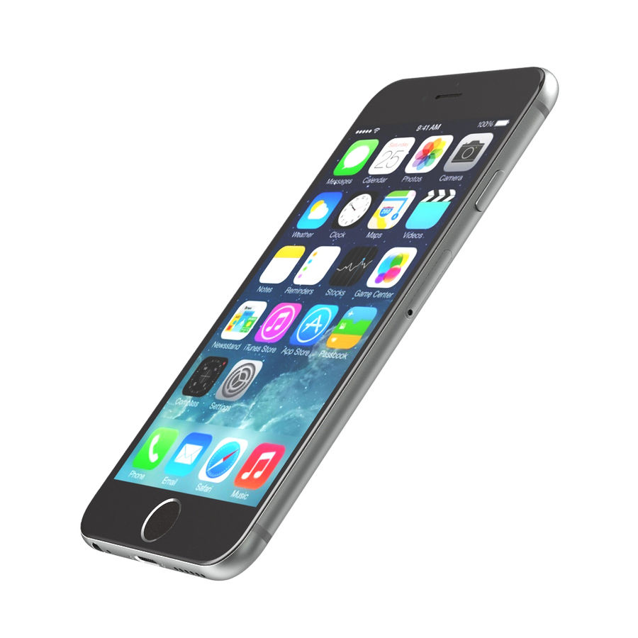Apple iPhone 6s royalty-free 3d model - Preview no. 8